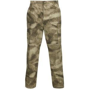 Propper pantaloni BDU con patta a bottoni in policotone Ripstop in A-TACS AU