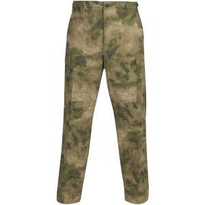 Propper pantaloni BDU con patta a bottoni in policotone Ripstop in A-TACS FG
