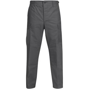 Propper pantaloni BDU con patta a bottoni in policotone Ripstop in grigio scuro