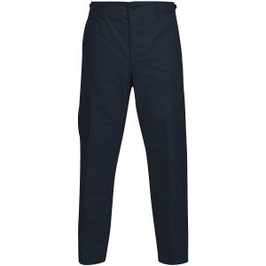 Propper pantaloni BDU con patta a bottoni in policotone Ripstop in Dark Navy
