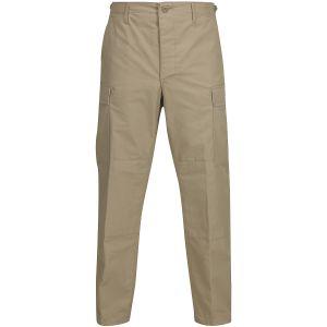 Propper pantaloni BDU con patta a bottoni in policotone Ripstop in cachi