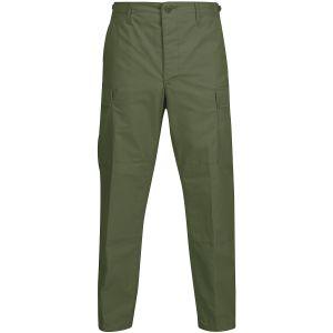 Propper pantaloni BDU con patta a bottoni in policotone in verde oliva