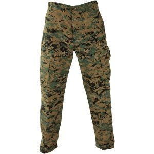 Propper pantaloni ACU in policotone RipStop in Digital Woodland
