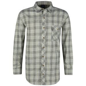 Propper camicia a maniche lunghe con chiusura a bottoni Covert in Loden Green Plaid