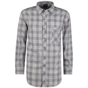 Propper camicia a maniche lunghe con chiusura a bottoni Covert in Steel Grey Plaid