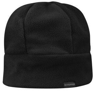 Propper berretto aderente in pile nero