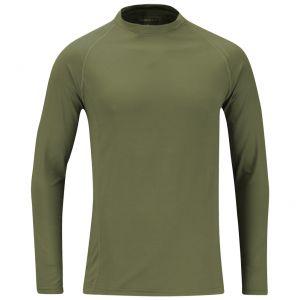 Propper sottomaglia per abbigliamento a strati in cotone di medio peso verde oliva