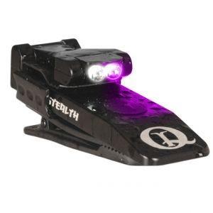 QuiqLite torcia elettrica UV / LED bianco Stealth