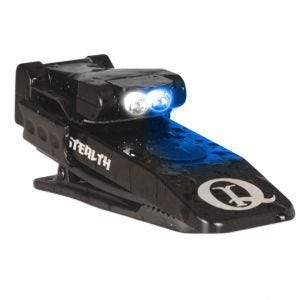 QuiqLite torcia elettrica Stealth con LED bianco/blu