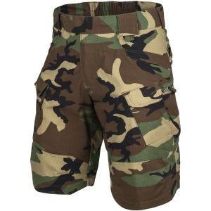 """Helikon shorts tattici Urban 11"""" in US Woodland"""