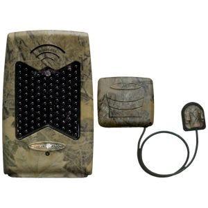 SpyPoint amplificatore IR wireless in Camo con LED flash invisibile nero