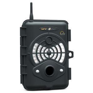 SpyPoint videocamera di sorveglianza Live ad infrarossi con funzione GSM in nero