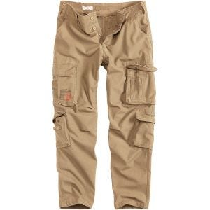 Surplus Airborne Slimmy Trousers Beige Washed