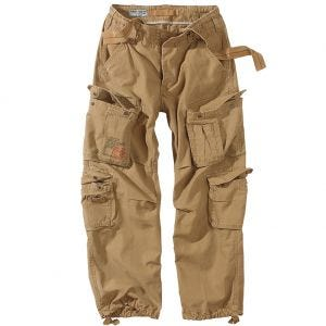 Surplus pantaloni vintage Airborne in Coyote