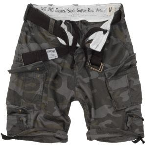 Surplus shorts Division in Black Camo