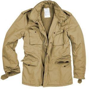 Surplus giacca invernale paracadutisti in beige slavato