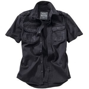 Surplus camicia a maniche corte vintage Raw in nero