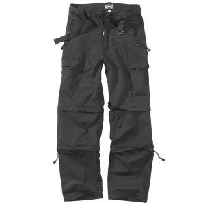Surplus pantaloni da trekking in nero
