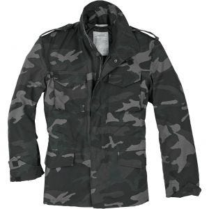 Surplus giacca da campo US M65 in Black Camo