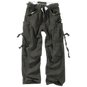 Surplus pantaloni Vintage Fatigues in nero