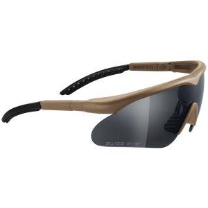 Swiss Eye occhiali Raptor con montatura in Coyote