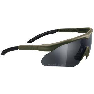 Swiss Eye occhiali Raptor con montatura in verde oliva