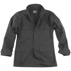 Teesar camicia BDU in ripstop in nero