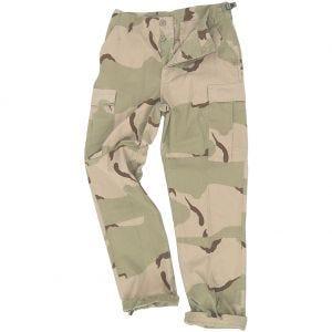 Teesar pantaloni BDU in ripstop in Desert a 3 colori