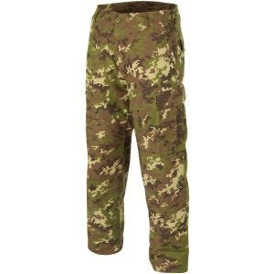 Teesar pantaloni BDU in ripstop in Vegetato Woodland