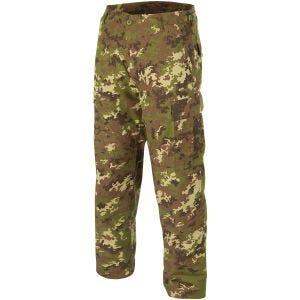 Teesar pantaloni BDU in ripstop in Vegetato Woodland