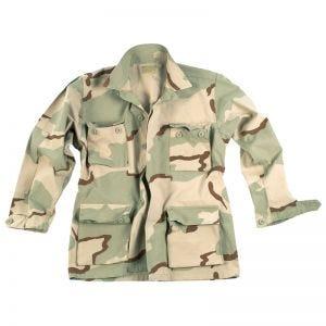 Teesar camicia BDU in ripstop prelavato in Desert 3 colori