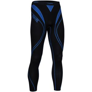 Tervel leggings da corsa Optiline in nero / blu