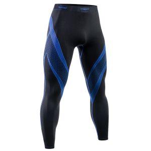 Tervel leggings da corsa Optiline in nero / blu
