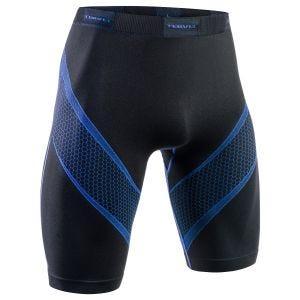 Tervel shorts da corsa Optiline in nero / blu