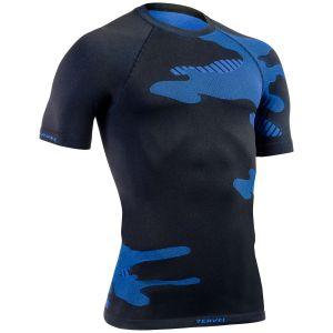 Tervel maglia maniche corte Optiline Light in nero / blu