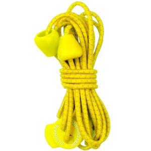 Ultimate Performance lacci elastici riflettenti in giallo