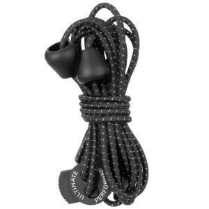 Ultimate Performance lacci elastici riflettenti in nero