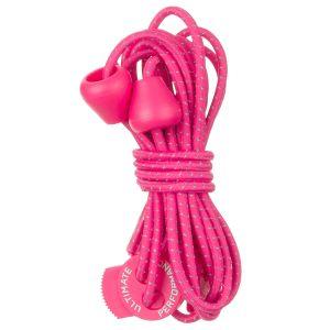 Ultimate Performance lacci elastici riflettenti in rosa acceso