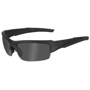 Wiley X occhiali Valor con lenti fumé grigie Black Ops e struttura in nero opaco