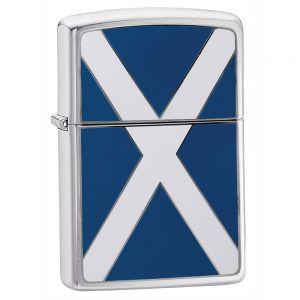 Zippo accendino con bandiera scozzese